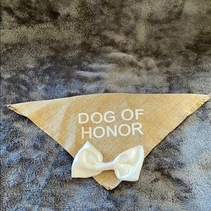 NWOT Dog Of Honor Bandanna